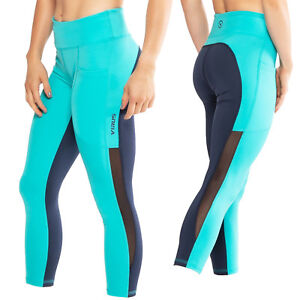 Virus ECO53.5 Lux with Mesh Stay Cool 7/8 Length Compression Pants,Crossfit Gym