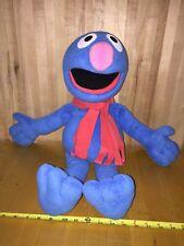 Grover Fisher Price Sesame Street Doll Furry Lovable Monster Blue SS Large Plush