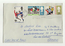 FDC England Angleterre enveloppe timbre 1er jour football world Cup 1966 / B5fdc