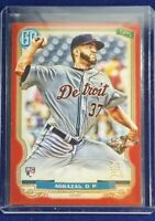 DARIO AGRAZAL - 2020 TOPPS GYPSEY QUEEN RED 10/10 RC ***ROOKIE***