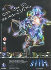 "Geist ""7th October"" ""Nintendo Gamecube"" 2005 Magazine Advert #4825"