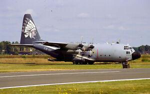 AIRCRAFT SLIDE / DIA C130H CH-01 BELGIAN AIRFORCE special cs