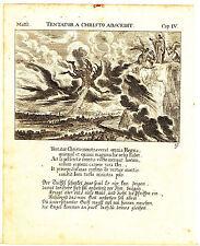 Originaldrucke (bis 1800) aus Europa mit Religions-Motiv und Kupferstich-Technik
