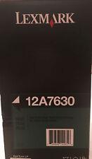 New ! Genuine Lexmark T630 T632 T634 X630 X632 X634 Printer Hi Yd Toner 12A7630
