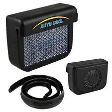 Solar Sun Power Car Auto Air Vent Cool Fan Cooler Ventilation System Radiator LZ