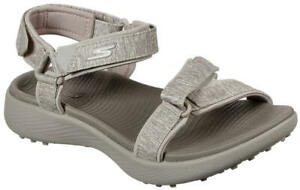 Skechers Women's Go Golf 600 Golf Sandal 17015TPE Taupe Ladies New