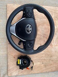 Toyota Corolla 14-19 Media Control Steering Wheel with Spiral Angle Sensor OEM u