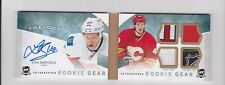 2012-13 Upper Deck The Cup SVEN BAERTSCHI Patch Strap Tag Auto Booklet RC #25/25