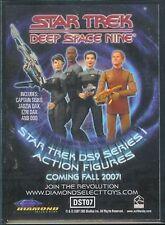 Quotable Star Trek DS9 Action Figure PROMO Card DST07