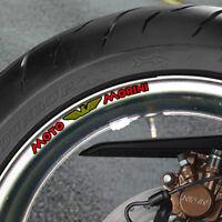 MOTO MORINI WHEEL RIM STICKERS 500 350 1/2 V  B