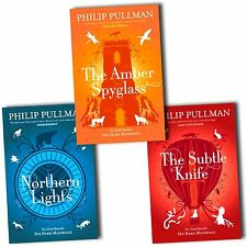 His Dark Materials Philip Pullman 3 books Set Pack New