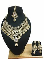 Indian Bollywood Traditional Gold Plated New Ethnic Fashion Jewelry Necklace Set