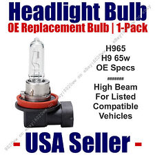 Headlight Bulb High Beam OE Replacement 1pk Fits Select Vehicles Listed H9 65
