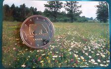 2 monete EURO BU bunc due euro Lettonia COW 2016 COINCARD NUOVO RARO