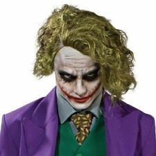 Child Joker Wig Dark Knight Ledger Batman Movie Boys Halloween Costume Accessory