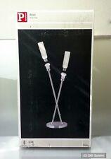 Paulmann Tischleuchte 2-flammig Basic Lampe aus Chrom, E27, 2 x 11W, 230 Volt