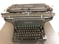 "Vintage UNDERWOOD CHAMPION TYPEWRITER W/ 14"" Carriage Unusual Number Keys"