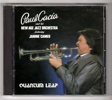 (GY219) Paul Cacia And His New Age Jazz Orchestra, Quantum Leap - 1987 CD