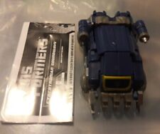 Transformers Generations Deluxe War For Cybertron Game Soundwave
