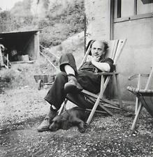 Wols-pioniere della modernità grande fotografia originale maestro chillt con cane!