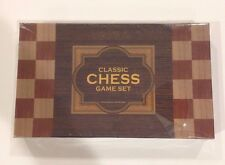 NEW Classic Chess Game Set. Holiday Collection