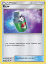 4X Repel Uncommon Trainer (130/149) SM -Sun and Moon Base- Set-NM- Pokemon