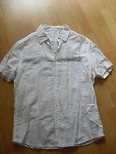 Esprit Leinen Hemd / Bluse Gr. XL weiß * wie NEU *