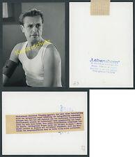 ORIG Foto superiore montagna Ritratto attore Joachim Hansen film vita Born cinema 1961