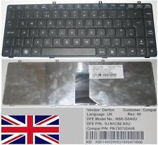 Clavier Qwerty UK GATEWAY TC7814C NSK-G0A0U 9J.N1C82.A0U KB.I1400.296 Noir