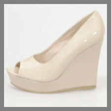 High (3 in. to 4.5 in.) Wedge Wear to Work Synthetic Heels for Women