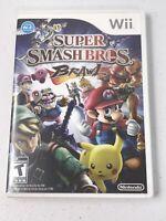 Super Smash Bros Brawl Nintendo Wii Game.