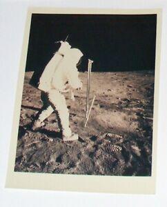 Apollo 11 Mission Kodak Photograph Buzz Aldrin Moon View July 20 1969 8 x 10