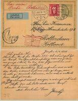 Czechoslovakia 🇨🇿 1928 postcard used Prague . d6992