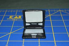 """1:6 scale Black Laptop Toy for 12"""" Action Figures C-179"""