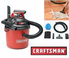 Craftsman Wet Dry Vac Portable 2.5 Gallon Vacuum Cleaner Car Boat Garage Blower