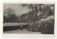 Frimley Green School Surrey 1946 Vintage Plain Back Photo Card 347c