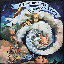 THE MOODY BLUES A QUESTION OF BALANCE 33T LP BIEM 1970 THRESHOLD 10.010 + INSERT