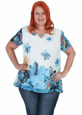 Chiffon Curvaceous Tops & Blouses for Women