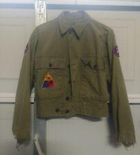 Original WW2 US Army Modified HBT Jacket