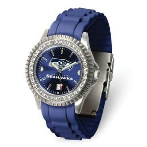NFL Seattle Seahawks Ladies Sparkle Watch Style: XWL1253 $68.90