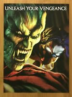 Legacy of Kain Defiance PS2 Xbox 2003 3pg Print Ad/Poster Soul Reaver Blood Omen