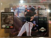 1998 Upper Deck UD3 Power Corps Die Cut Barry Bonds 746/2000