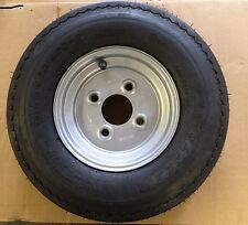"""8"""" Trailer Wheel and Tyre 4.80/4.00-8 4 stud 100pcd"""