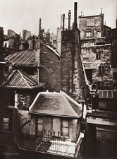 1890/1963 Vintage 11x14 PARIS CITYSCAPE Architecture France Photo ~ EUGENE ATGET