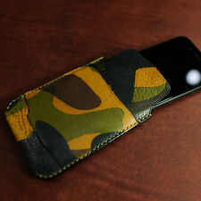 iPhone 7+ / 7 plus pocket leather pouch case  - Arte di mano -