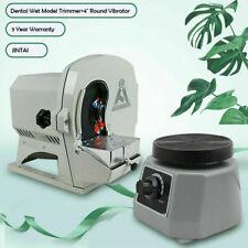 4 Vibrator Dental Wet Model Trimmer Shaping Abrasive Disc Wheel Gypsum Arch Us