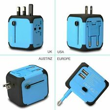 3 Usb Port Type C Universal World Travel Charger Adapter Plug Converter Power Us