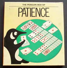 Penguin Boxed set Patience Card Games, Book and 2 x Decks Cards 1980