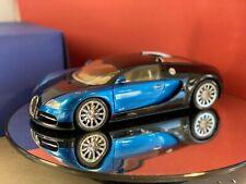 bugatti veyron showcar blue 1:18 autoart