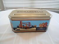 "Large Ghirardelli's Chocolate San Francisco Collectible Tin Empty 12"" X 5"" X 7"""